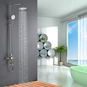 outdoor shower system