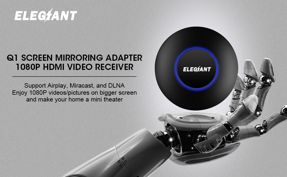 Q1 Drahtlose Wifi Display Dongle Empfänger 1080 P Hd Tv Stick Airplay Miracast Media Rk3036 Adapter Media Tv-stick