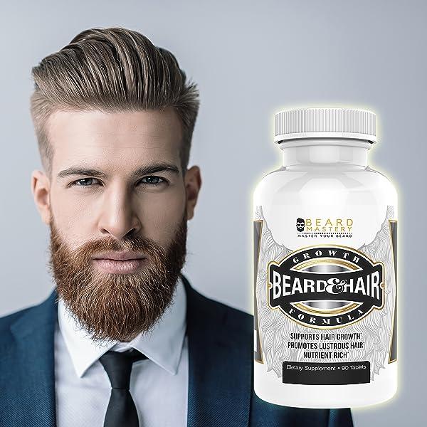Amazon Com Beard Growth Vitamins For Men Safe And