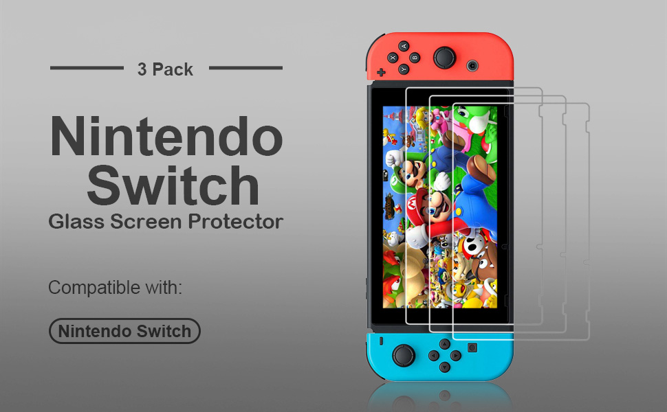 nintendo switch screen protector