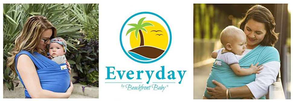 d9ffc973d6e Amazon.com   Beachfront Baby Everyday Wrap + Bag Everyday Use   in ...