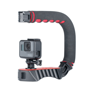 HP Photosmart C912 Vertical Shoe Mount Stabilizer Handle Pro Video Stabilizing Handle Grip for
