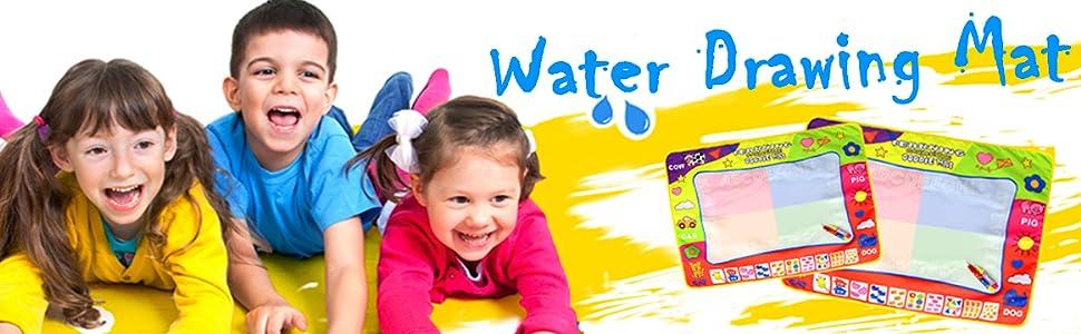 water drawing mat