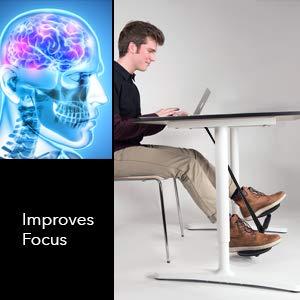 Amazon.com: SITFLOW Under Desk Leg Swing - Sitting