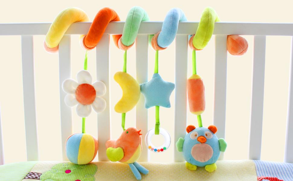 SHILOH Crib Sprial Rail Toy Fairy Tale