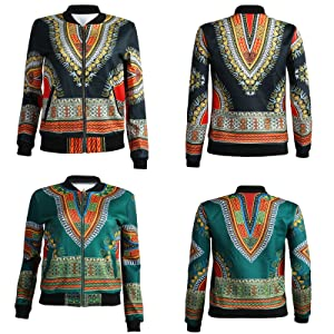 Amazon.com: feiyoung Mujer Bodycon Estilo africano Dashiki ...
