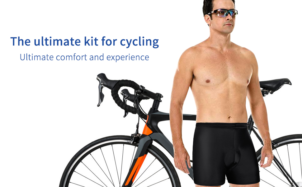 padded bike shorts