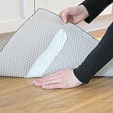 Residue free carpet tape
