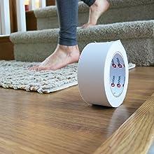 Safe for delicate flooring material carpet tape