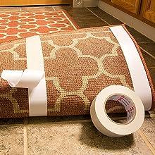 Multipurpose carpet tape