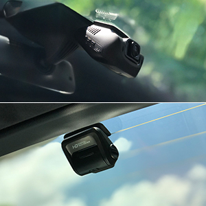 Front and rear car camera