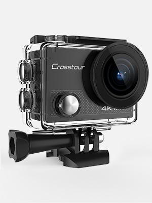 Amazon.com: Crosstour - Cámara de acción 4K, 16 MP, WiFi ...