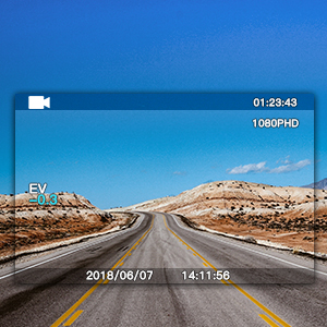 3 inch LCD car cam