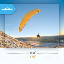 170°Wide-Angle Lens