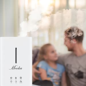 family friendly safe to use humidifier, ultrasonic humidifier for baby room, pets and plants