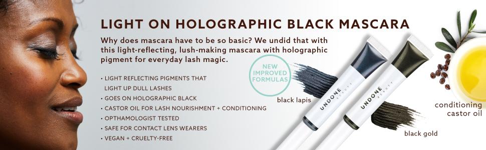 f6d5e96d882 Amazon.com : Multi-Dimensional Holographic Black Mascara. Light ...