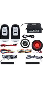 Amazon.com: EASYGUARD EC002-NS PKE Passive Keyless Entry Car ...