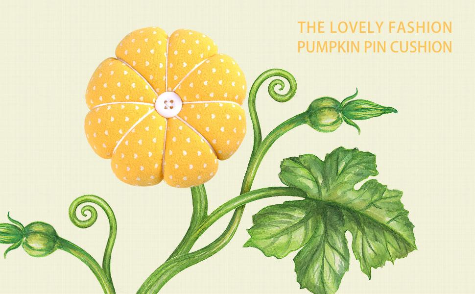 eZAKKA Wrist Pin Cushion Polka Pumpkin Wrist Band Pin Cushions Wearable Needle Pincushions for Sewing Old Blue Flower