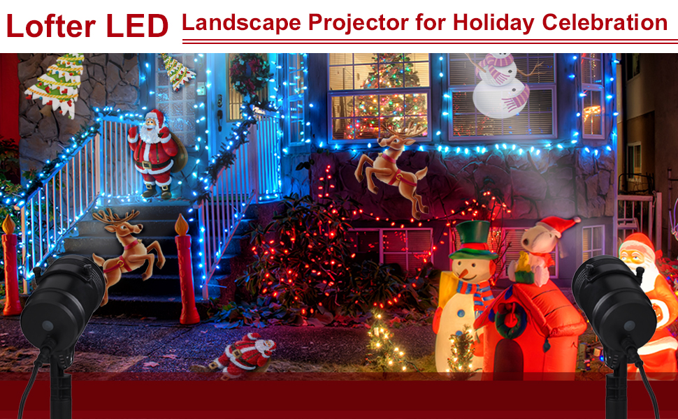 the newest led christmas light projector is now available - Led Christmas