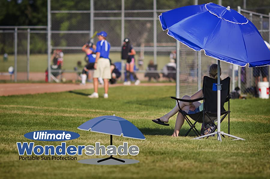 ... Captive In The Sun When You Are Trying To Enjoy A Soccer Game Or Other  Event? Ultimate Wondershade Is Your Solution! A Portable, Lightweight Sun  Shade, ...