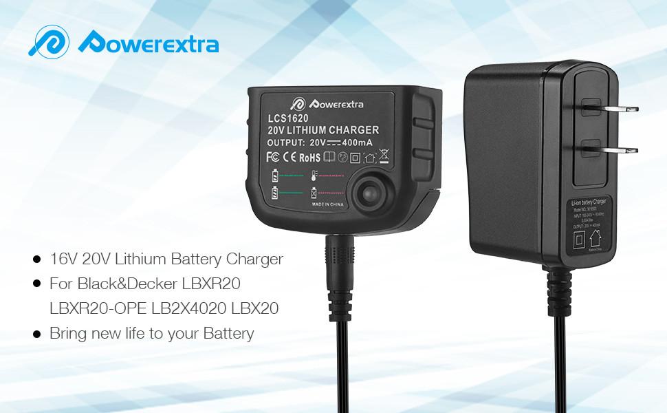 Amazon.com: Powerextra LCS1620 - Cargador de batería de ...