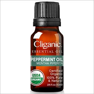 Cliganic Organic Peppermint Oil, 100% Pure