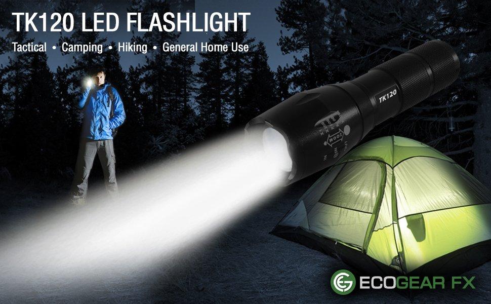 TK120 LED Tactical Flashlight