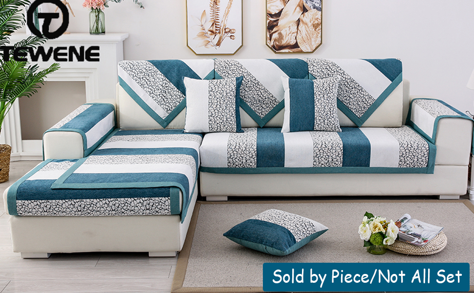 Astounding Tewene Couch Cover Sofa Cover Couch Covers Sectional Couch Covers Washable Sofa Slipcover For Dogs Cats Pet Love Seat Recliner Blue Sold By Machost Co Dining Chair Design Ideas Machostcouk