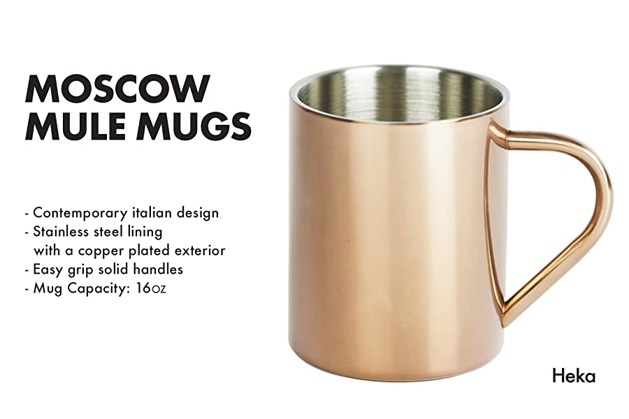 product description - Mule Mug