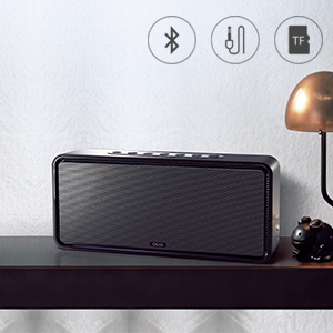 DOSS SoundBox XL 32W Bluetooth Speakers, Louder Volume 20W Driver, Enhanced  Bass with 12W Subwoofer  Wireless Speaker for Phone, Tablet, TV, and More