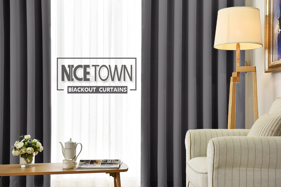 living room curtins. NICETOWN Specializes in Blackout Curtains Amazon com  Bedroom Panels Window