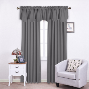 Donu0027t Bother Looking For Valance To Match, Choose Different Styles Of  Blackout Valance With The Same Color In NICETOWN Store. Such Curtain Sets  Provide A ...