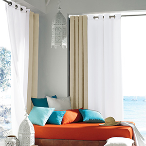 Perfect Choice For Indoor And Outdoor Decoration. Modern And Simple Style  Of NICETOWN Outdoor Curtains Make Them Applicable To The Decoration Of  Front Porch ...