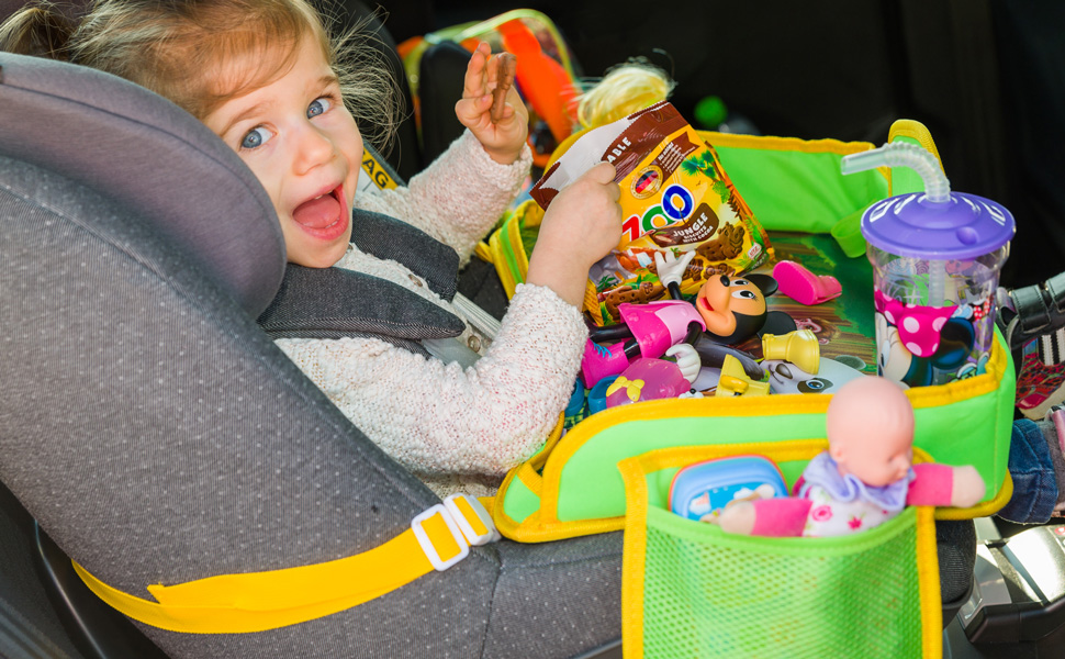 Set Your Car Seat Kids Travel Tray Up In Less Than A Minute