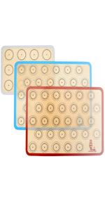 silicone baking mat macaron