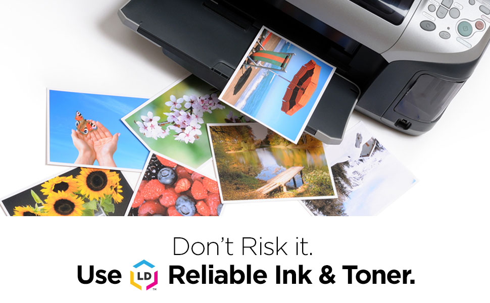 Don't Risk it Usel Reliable Ink and Toner