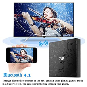 TV BOX bluetooth 4.1