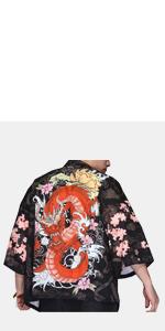 men kimono cardigan