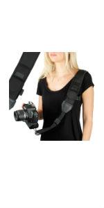 USA GEAR Camera Strap Shoulder Sling