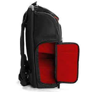 USA Gear Digital SLR Camera Backpack with Laptop Compartment , Rain Cover , Lens Storage for DSLR