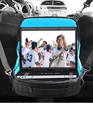 USA GEAR Portable DVD Player Case - S11 Car Headrest Holder