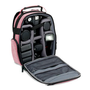 USA Gear UBK DSLR Camera Backpack with Customizable Interior Storage and Weather Resistant Bottom