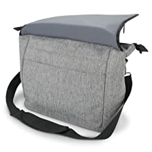 DSLR / SLR Messenger Camera Bag with Customizable Accessory Dividers and Weather Resistant Bottom