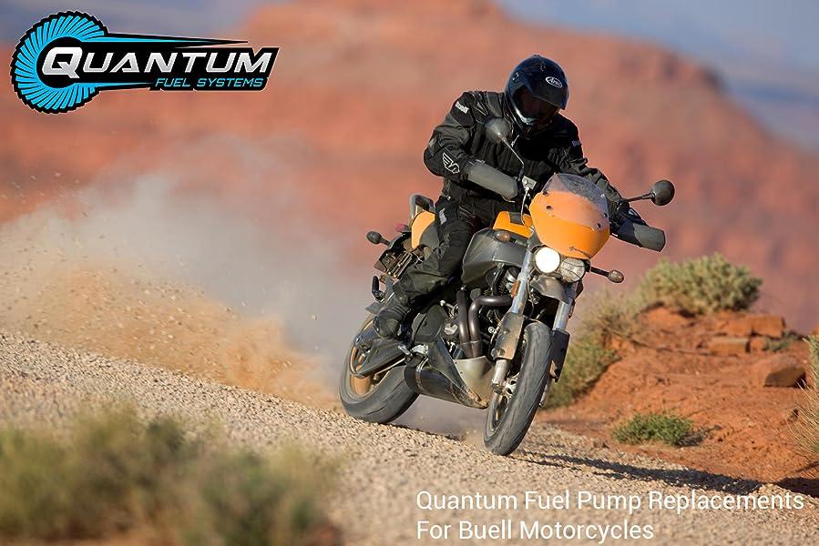 XB9 Ulysses XB12 XB12X XB9SX HFP-361-BU Bue Firebolt XB9R XB9S Lightning 1991-2010 Moto Pompe /à carburant avec kit dinstallation et r/égulateur de pression
