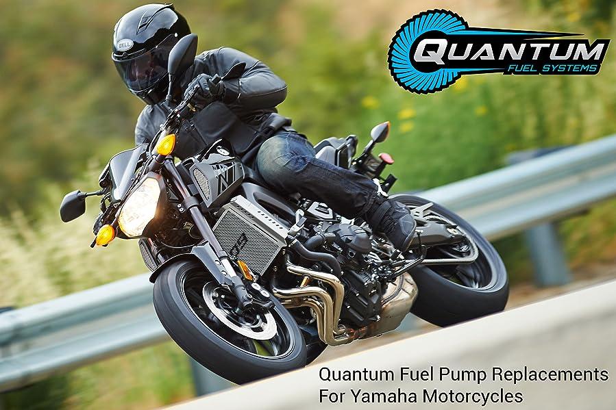 YZ250FE HFP-390-YZF-REG Yam WR250F WR450F YZ250F YZ250FX YZ450F YZ450FX 2010-2018 Motocicleta Bomba de combustible con kit de instalaci/ón y regulador de presi/ón YZ450FB