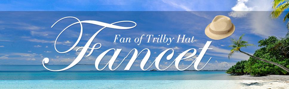ecc02be3205 Packable Straw Fedora Panama Sun Summer Beach Hat Cuban Trilby Men Women 55-61  cm