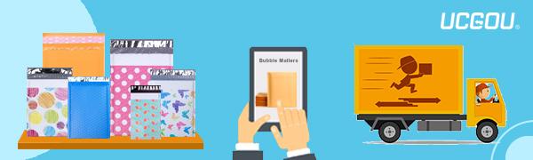 UCGOU Bubble Mailers Padded Envelopes