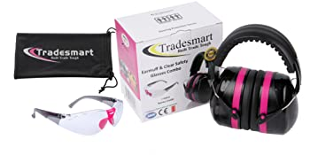 Earmuffs and safety glasses pack