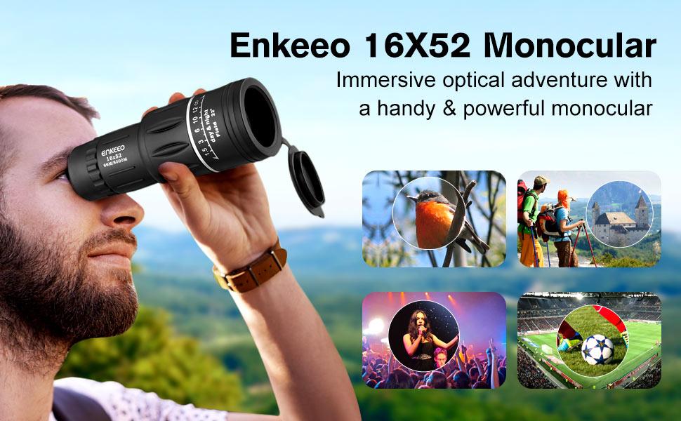Amazon enkeeo dual focus monocular fully multi coated