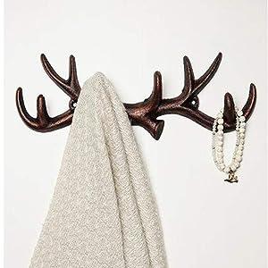 Amazon.com: Comfify ganchos de pared decorativos con ...